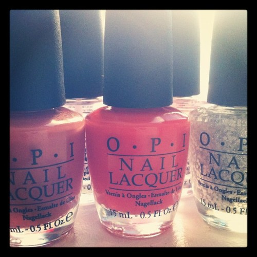 Day 132: OPI til I Die! #mayphotoaday #photoaday #365 #day132 #2012 #somethingthatmakesyouhappy #nails  (Taken with instagram)