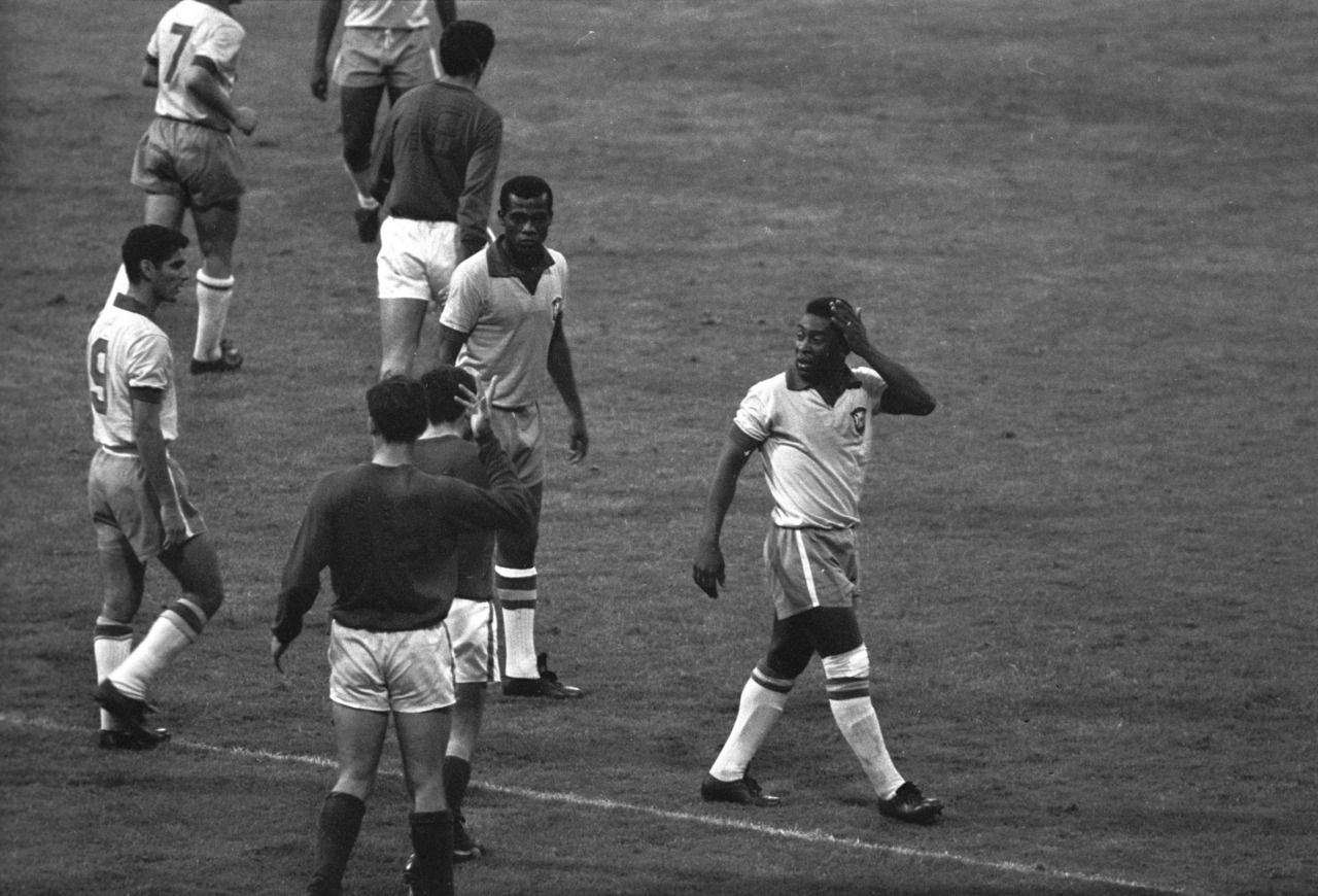 Pele v Portugal, World Cup 1966.