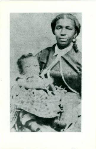dreamhampton1:  Mary Sylvina and her son, W.E.B. Du Bois