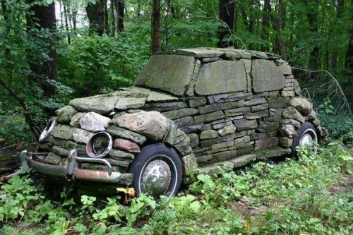 the-pie-rat:  Ancient cars got very poor gas millage due to heavy bodies and no engine