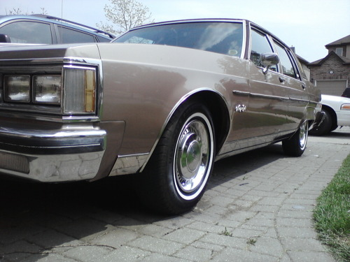 My 1983 Oldsmobile Regency Ninety Eight. All Cleaned up.