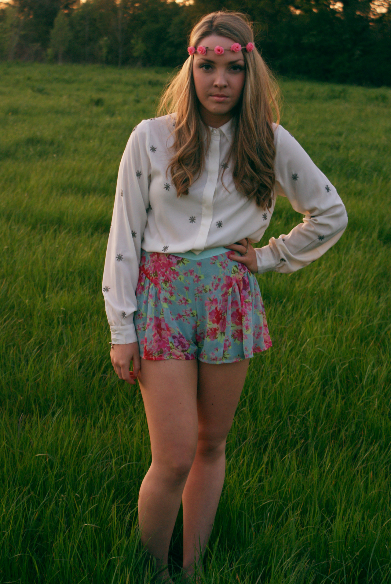 Friday nights photo shoot, boho