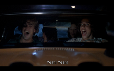 I simply can't get enough of Dazed and Confused, take me back to the 70s!