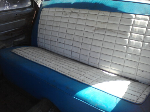 1956 Ford Customline Retro seat.