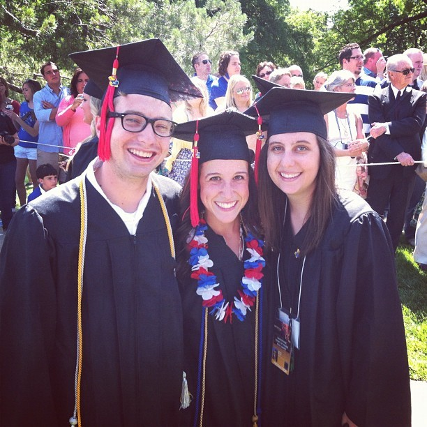 Proud of these kids. @afill7 @andreadcarroll @saramillerb  (Taken with Instagram at Campanile)