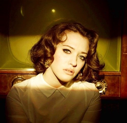 "22/100 Pictures of my heroes. Kat Dennings. ""I don't take crap from anyone, so that makes people think I'm rebellious. I'm not. I'm just not a pushover."" - Kat Dennings."