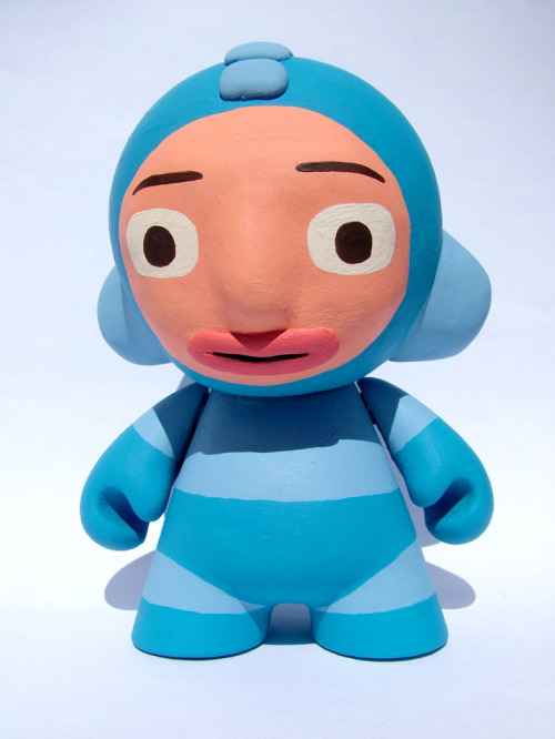 …and speaking of Jack Teagle, that's one funny Megaman Munny. via jackteagle