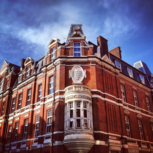 Ex-Eye Hospital (Hotel du Vin) #birmingham #architeture (Taken with Instagram at Hotel Du Vin)