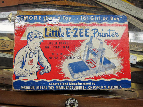 Little E-ZEE Printer by Depression Press on Flickr.