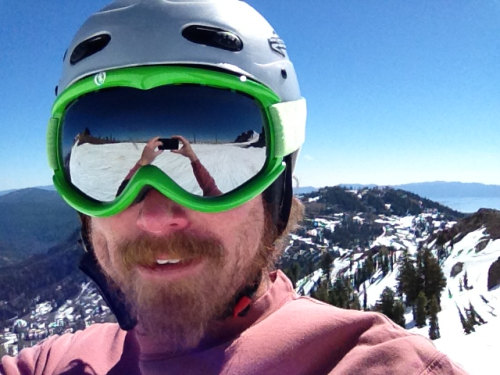 Last day of skiing for the year at Alpine Meadows!