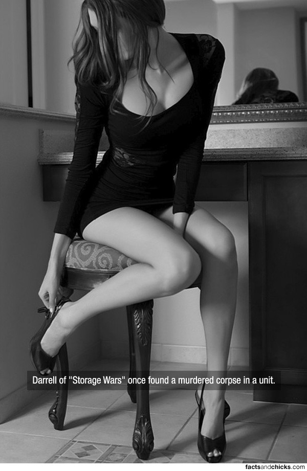 "factsandchicks:  Darrell of ""Storage Wars"" once found a murdered corpse in a unit. source"