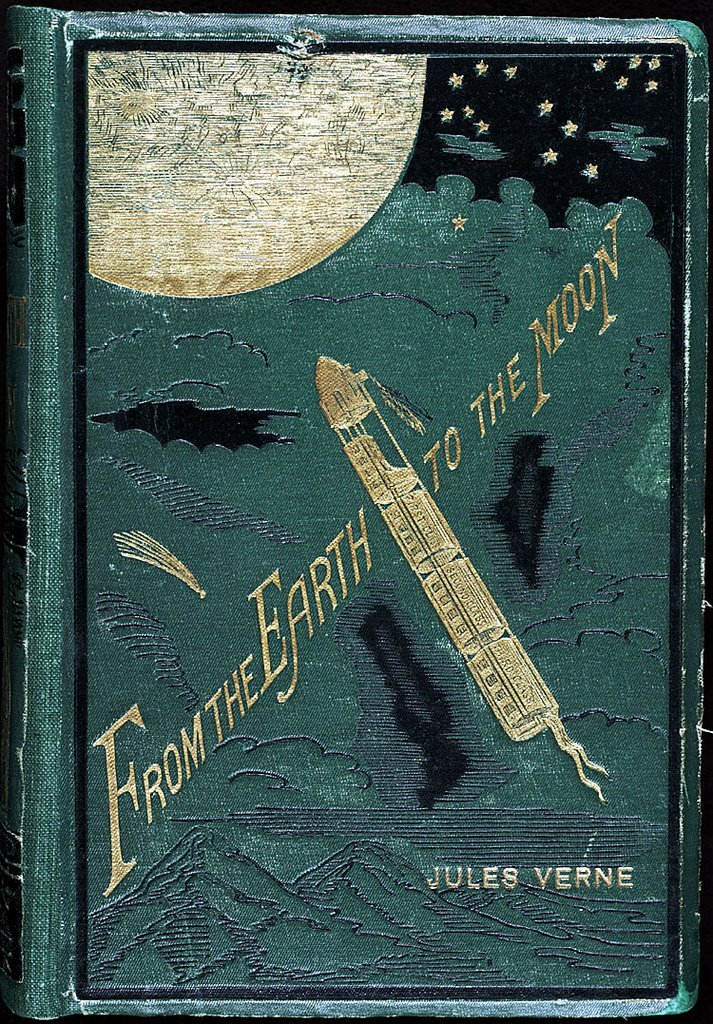 fsebmat:  Jules Verne, From the Earth to the Moon, 1867