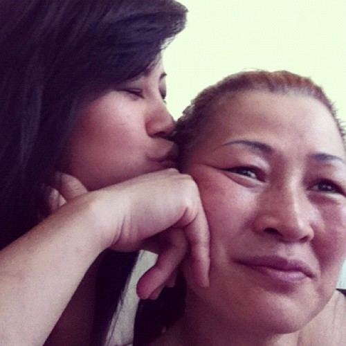 happy mothers day to the most beautiful woman i know. Love you momma 😘❤#mothersday#homesick#family#love#missher#firsttimeaway (Taken with instagram)