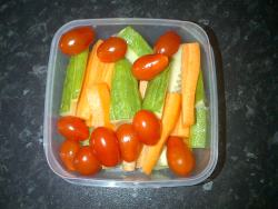 Healthy snack to go!x