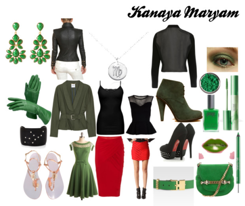 A Fashionstuck outfit inspired by Kanaya Maryam, of Homestuck.