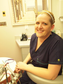 Environmental Portrait of Jenell, a Dental Assistant.