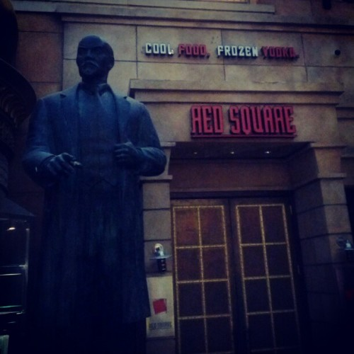 #lenin #redsquare #atlanticcity #jersey #vodka (Taken with instagram)