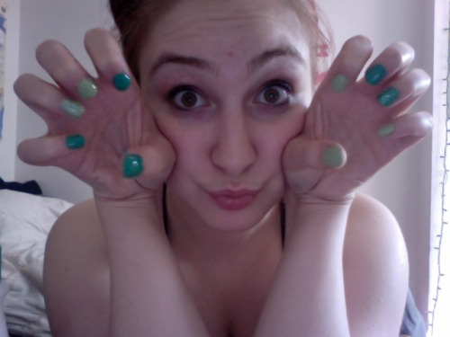 w00t for doing my nails instead of doing what I am supposed to be doing…