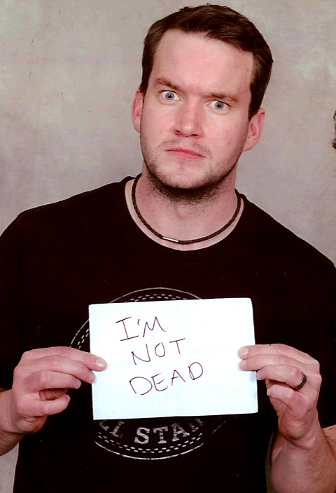 Gareth David-Lloyd || 'The Greatest Show in the Galaxy' (May 2012)