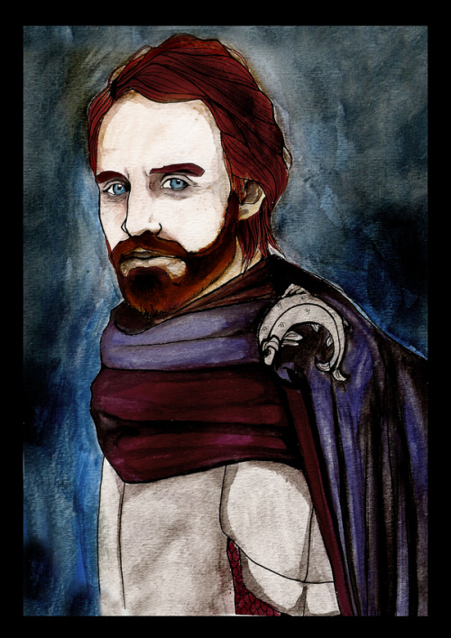 rinception:  Edmure Tully by ~Silent-My-Voice Finally got around to scanning this.