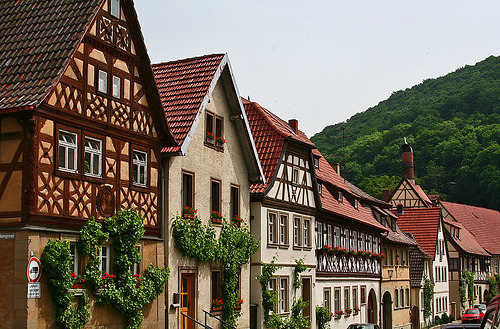 allthingseurope:  Hassfurt, Germany (by Monika Haeberlein)