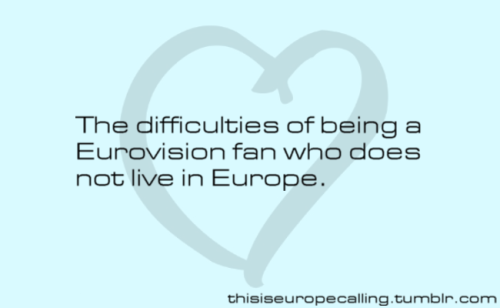 light-yourfire:  YESYESYES. Shout out to the Australian Eurovision fans! We are lucky to have Julia and Sam though!