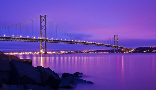 Forth Road Bridge » by EchoArt7