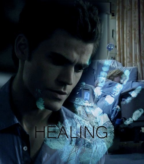 "AU meme - TVD characters as metahumans Stefan and Damon Salvatore: Healing (life force manipulation) Stefan runs through the hospital. Elena's waiting for him at the end of the hall but he only sees Damon. He's slumped in one of the visitor chairs, trying to push a well-meaning doctor away. Stefan isn't sure what he says but suddenly it's just him and Damon. He kneels before his brother.""What did you do to yourself?"" Stefan demands. He takes Damon's hand, moves his fingers to the wrist to feel the faint pulse. Damon's skin is pale and clammy. He looks like he'd blow away in a good gust of wind.""She said I couldn't do it."" Damon's voice comes out with a faint wheeze. ""Said I must be a pretty weak healer, 'cause you'd at least try."" Damon tries to smile. ""Couldn't let her get away with that.""""What did you do?"" Stefan asks again, fear making his voice hard. A girlish laugh sounds behind him and he turns to see Elena in a nearby room. She's standing by Caroline's bedside. The blonde looks amazingly chipper for someone in the ICU.""She was dead. I tried, didn't think it'd do any good. Turns out it did.""""She couldn't have been,"" Stefan says. It's impossible to bring someone back from the dead, every healer knows it. But Damon would know better than anyone that Caroline really was gone and he wouldn't lie about this.Stefan takes a seat next to Damon and focuses on feeding him some of his own life force. They'll figure out what this means tomorrow. Right now his brother needs him."