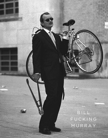 I need a bicycle, but I'm broke. I'm so tempted to pull a Bill Murray…