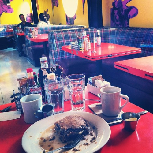 Vegan pancake status: consumed  (Taken with instagram)