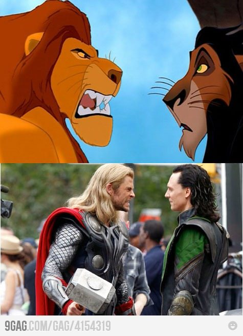 "itsdatrollmon:  From 9gag (hybridblast):""The similarities are quite uncanny…"""