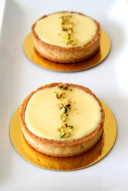 inaforeignland:  Meyer lemon tart