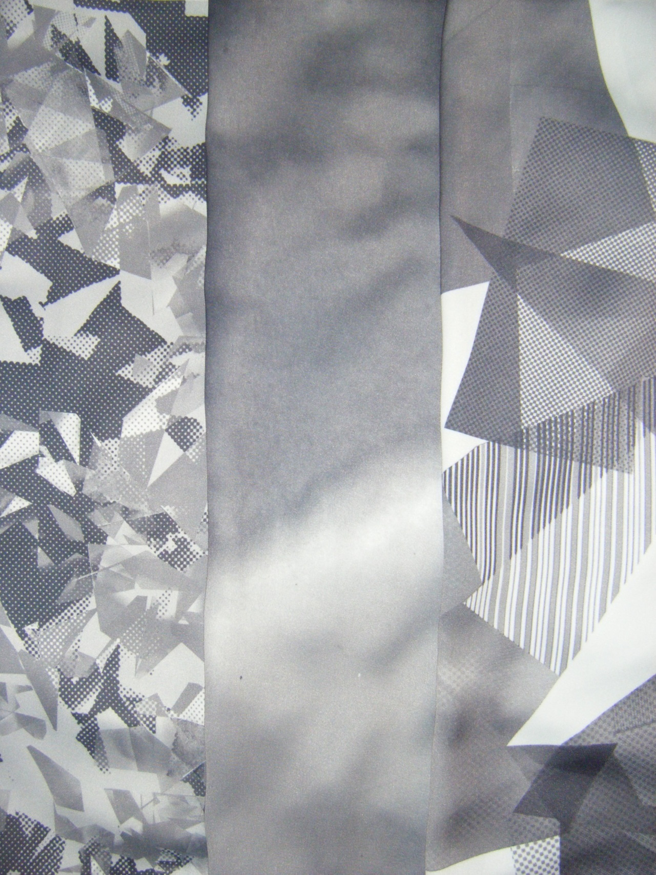 Sublimation Digital Fabric Prints from Black and White collection