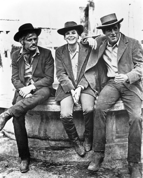 lifeonmars70s:  Robert Redford, Katharine Ross & Paul Newman
