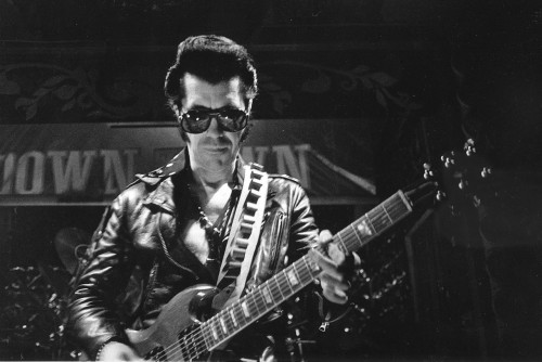 "Link Wray = poke holes in the speaker on your amp, create distortion. Rumble - was banned in several radio markets because the term rumble was a slang term for a gang fight, and it was feared that the song's harsh sound glorified ""juvenile delinquency."" OG."
