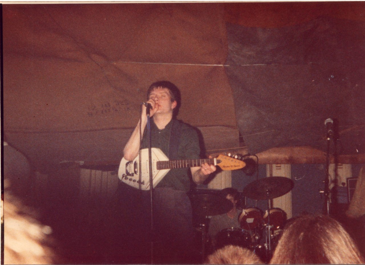 teenage-abandon:  My Dad took this back in 1980 less than 2 months before ian died, i thought it was a pretty cool photo.