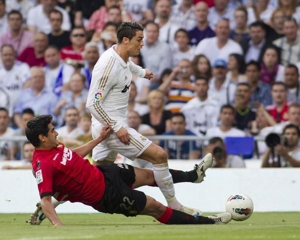 Real Madrid vs. Mallorca 4:1, 13.05.2012(via Photo from Getty Images)