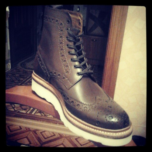 #grenson (Taken with instagram)