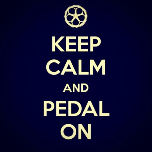 My parody works #keepcalm #pedal #cyclist #graphic (Taken with instagram)