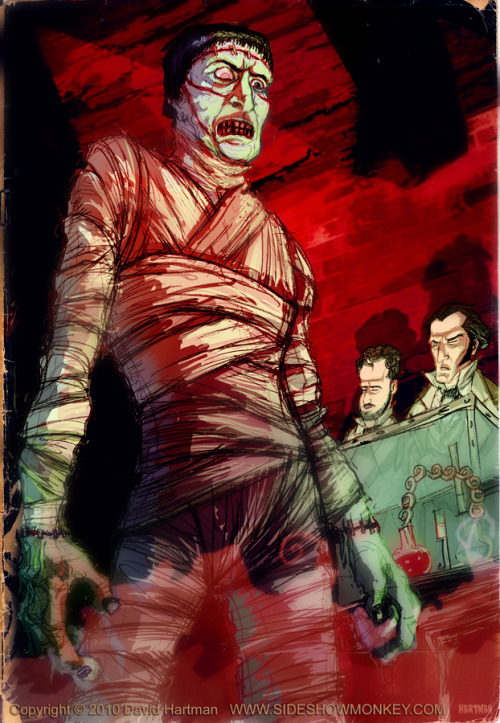 The Curse Of Frankenstein by David Hartman