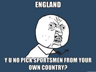 Scumbag England Rugby and Cricket teams