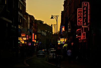 Sunset Neon in Brick Lane…