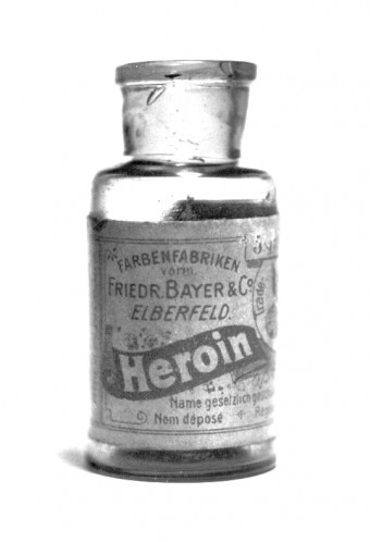 historical-nonfiction:  A pharmaceutical company named Bayer independently invented heroin, coined the term. They sold it as a cough medicine, useful in treating asthma, bronchitis, and tuberculosis.