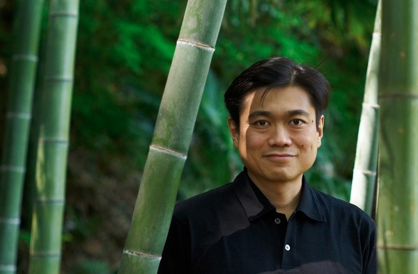 "emergentfutures:  Joi Ito's Near-Perfect Explanation of the Next 100 Years ""One hundred years from now, the role of science and technology will be about becoming part of nature rather than trying to control it."" Full Story: Technology Review  God, his eyes look creepy as fuck."