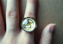 One of my Mockingjay rings is up for grabs on facebook, just go to this page & answer the question for your chance to win it There's also other stuff up for grabs from various crafty people if you have a scroll down the main page So share, reblog etc. :) thanks