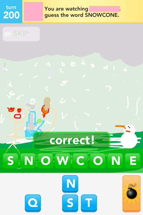 Hehe My lame Draw Something artwork.