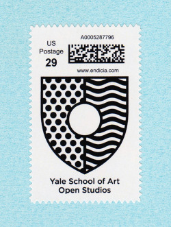 yalegraphicdesign:  Open Studios, Yale School of Art Poster, 2011Design: Jaewon Seok