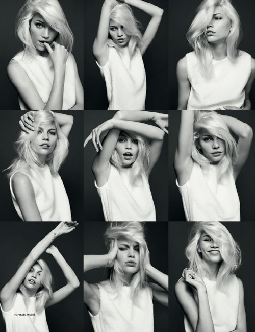 play:  Aline Weber by Kai Z Feng for Stockholm S/S/A/W.