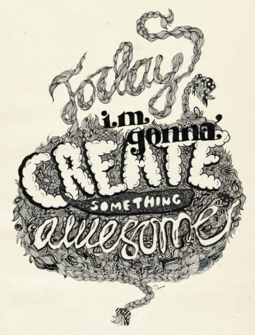 martinekenblog:  (via 20 awesome illustrated typography inspirations | koikoikoi)