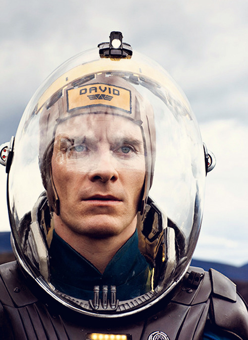 Faces I Like. Michael Fassbender as android David in Prometheus (2012).